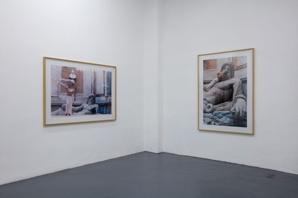 Galleria Giampaolo Abbondio // ZHANG HUAN THE BODY AS LANGUAGE